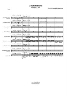Creaturehouse: Saxophone Choir, AMSM67 by Steven Grames, Eric Kartchner