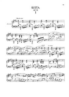 Amerikanische Suite für Klavier, B.184 Op.98: Für einen Interpreten by Antonín Dvořák