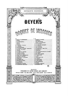 Bouquet de Mélodies, Op.42: Belisario by Ferdinand Beyer