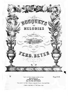 Bouquet de Mélodies, Op.42: Linda di Chamounix by Ferdinand Beyer