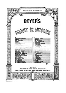 Bouquet de Mélodies, Op.42: Preciosa by Ferdinand Beyer