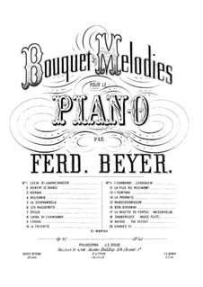 Bouquet de Mélodies, Op.42: La Sonnambula by Ferdinand Beyer