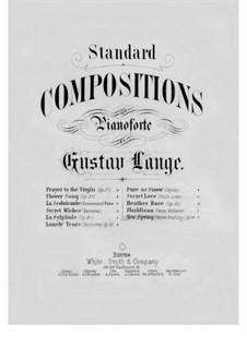 Neuer Frühling, Op.44: Für Klavier by Gustav Lange