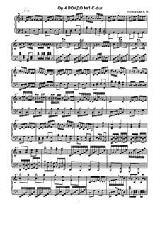 Rondo No.1, Ор.4: Rondo No.1 by Ksardas