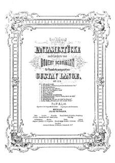 Fantasiestücke nach Liedern von R. Shumann, Op.124: Nr.9 Frühlingsnacht by Gustav Lange