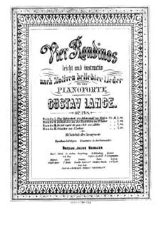 Vier Rondinos, Op.148: Rondino Nr.1 by Gustav Lange