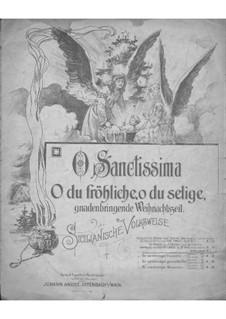 Fantasien über beliebte Volkslieder, Op.232: No.76 O Sanctissima by Gustav Lange
