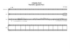 Narrative Quartet No.1 for Clarinet Bb, Oboe, Cello and Piano, MVWV 681: Narrative Quartet No.1 for Clarinet Bb, Oboe, Cello and Piano by Maurice Verheul