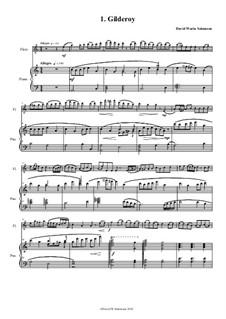No.1 Gilderoy: Für Flöte und Piano by folklore, David W Solomons