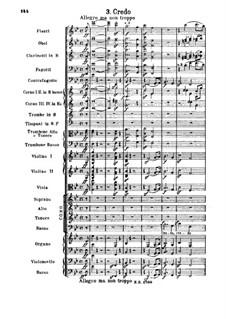 Missa Solemnis, Op.123: Credo by Ludwig van Beethoven