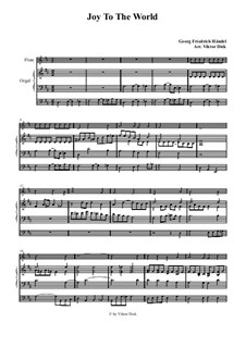 Freue dich Welt: Für Flöte und Orgel by Georg Friedrich Händel