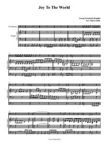 Freue dich Welt: Für Posaune und Orgel by Georg Friedrich Händel