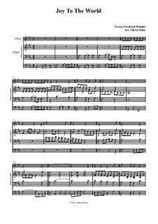 Freue dich Welt: Für Oboe und Orgel by Georg Friedrich Händel