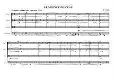 Narrative Quartet No.0 for String quartet (Silence No.1), MVWV 100b: Narrative Quartet No.0 for String quartet (Silence No.1) by Maurice Verheul