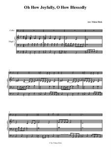 O du fröhliche: Für Cello und Orgel by folklore