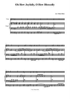 O du fröhliche: Für Flöte und Orgel by folklore