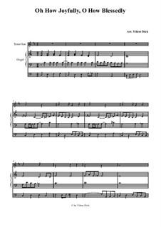 O du fröhliche: Für Tenorsaxophon und Orgel by folklore