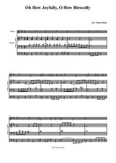 O du fröhliche: Für Oboe und Orgel by folklore