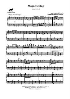 Magnetic Rag: Easy version by Scott Joplin