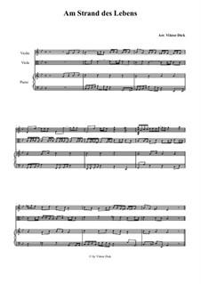 Am Strand des Lebens: Für Violine, Viola und Klavier by folklore