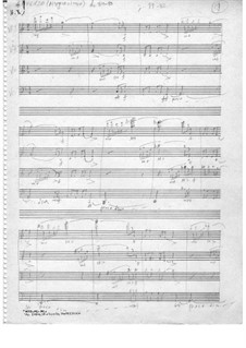 Scherzo in C major: Scherzo in C major by Ilias Chrissochoidis
