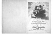 Sechs Konzerte für Streicher und Tasteninstrument, Op.11: Tasteninstrumentstimme by Carl Friedrich Abel