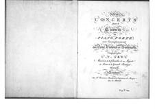 Sechs Konzerte für Streicher und Tasteninstrument, Op.11: Cellostimme by Carl Friedrich Abel