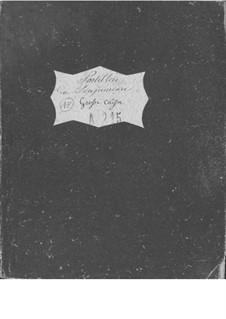 Le postillon de Lonjumeau (The Coachman of Lonjumeau): Bass drum part by Adolphe Adam