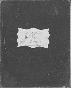 Le postillon de Lonjumeau (The Coachman of Lonjumeau): Bassoon I-II parts by Adolphe Adam