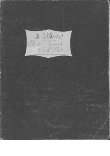 Le postillon de Lonjumeau (The Coachman of Lonjumeau): French horn III-IV parts by Adolphe Adam