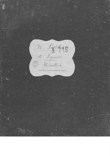 Le postillon de Lonjumeau (The Coachman of Lonjumeau): Oboe I-II parts by Adolphe Adam