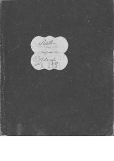 Le postillon de Lonjumeau (The Coachman of Lonjumeau): Triangle part by Adolphe Adam