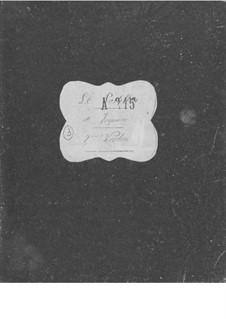 Le postillon de Lonjumeau (The Coachman of Lonjumeau): Violinstimme II by Adolphe Adam