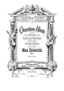 Le postillon de Lonjumeau (The Coachman of Lonjumeau): Ouvertüre für Klavier, vierhändig by Adolphe Adam