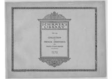Si j'étais roi (Wenn ich König wäre): Overtüre, für zwei Klaviere, vierhändig by Adolphe Adam