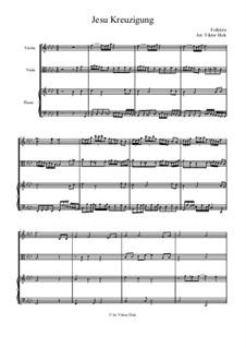 Jesu Kreuzigung: Für Viola und Klavier by folklore