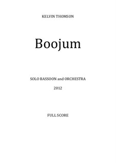 Boojum: Boojum by Kelvin Thomson