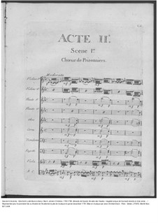 Amadis des Gaules, Overtüre - Partitur, W G39: Akt II – Partitur by Johann Christian Bach