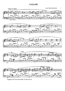 Lullaby: Wiegenlied by Ilias Chrissochoidis