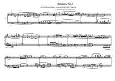 Tristesse No.3 for piano, MVWV 502: Tristesse No.3 for piano by Maurice Verheul