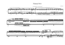 Tristesse No.6 for piano, MVWV 505: Tristesse No.6 for piano by Maurice Verheul