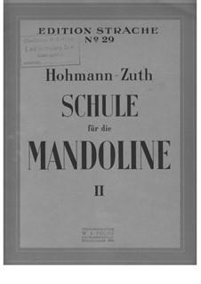 Schule für die Mandoline: Teil II by Christian Heinrich Hohmann