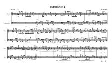Duo No.4 for Violin and Cello, Expression No.4, MVWV 66: Duo No.4 for Violin and Cello, Expression No.4 by Maurice Verheul