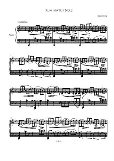 Ruminatus No.2: Ruminatus No.2 by Irminsul Harp