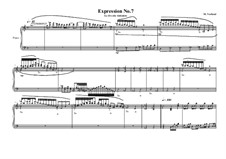 Expression No.7 for piano, MVWV 69: Expression No.7 for piano by Maurice Verheul