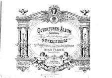 Die Capulets und die Montague: Ouvertüre, für Klavier, vierhändig by Vincenzo Bellini