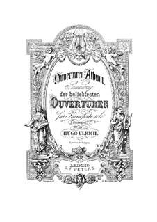 Die Capulets und die Montague: Ouvertüre, für Klavier by Vincenzo Bellini