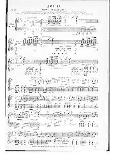 I puritani (The Puritans): Akte II- III, für Stimmen und Klavier by Vincenzo Bellini