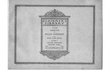 I puritani (The Puritans): Ouvertüre, für Klavier, vierhändig by Vincenzo Bellini