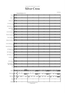 Silver Cross (for Concert Band): Silver Cross (for Concert Band) by Jordan Grigg